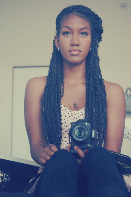 Twists   Two strand twists that are thicker than Senegalese twists ...