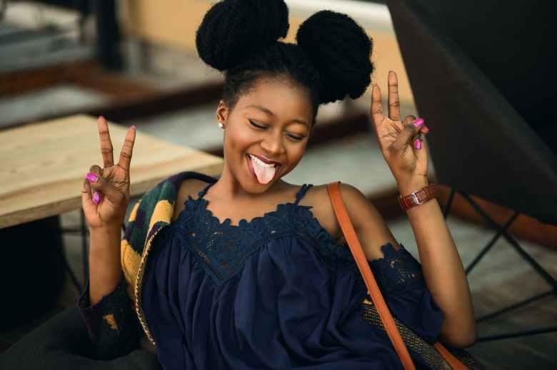 fun:happy:blackgirl